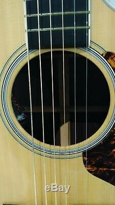- 100 $ Martin Gpcpa3 Guitare Électrique Acoustique Fabriqué Aux États-unis 2011 F1 Aura