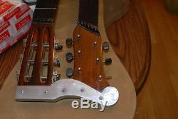 1917 Sears Roebuck Harmony Fait Supertone Double Cou Acoustique Guitare Harpe