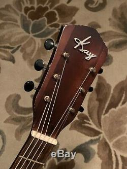1930 1940 1950 Kay Archtop Guitare Acoustique Made In USA Vintage Antique