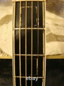 1936, Gibson L-5 Acoustic Archtop Guitar, Great Action &tone Made In Kalamazoo Etats-unis