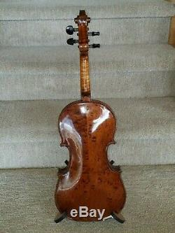 1942 Gibson G-25 Violon Rare G Modèle (fabrication Allemande) Avec Étui Et Bow Originale