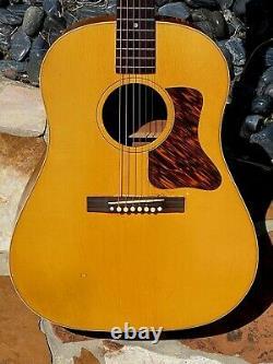 1942 Gibson J-35 Ultra Rare Opaque Blonde Finale Supérieure 1 De 2 Jamais Faite Juste Wild