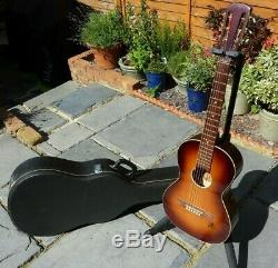 1950 Vintage Framus Parlour / Parlor Guitare Made In Germany