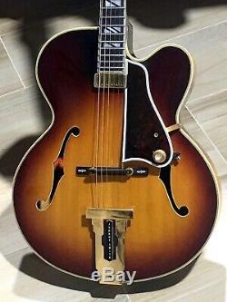 1961 Gibson Johnny Smith, Le Plus 1ère Année Incroyable Fait De Ramassage Withprototype