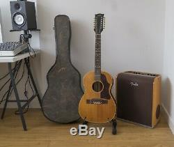 1964 Gibson B-25 12 Cordes Guitare Acoustique Made In USA Avec Étui