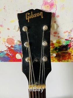 1967 Gibson Lg-0 Mahogany, Made In USA Kalamazoo
