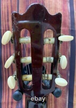 1967 Yairi Gakki B2 Guitare Classique Fabriquée Au Japon Avec Étui (sadao Yairi I Think)