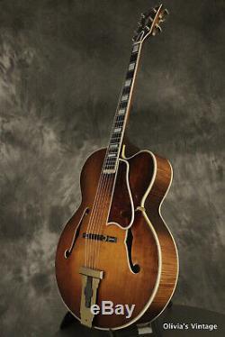 1969 Gibson L-5c Spécial / Sur Mesure Pour Les Ventes Représentant Gibson Clean Withhang Tags