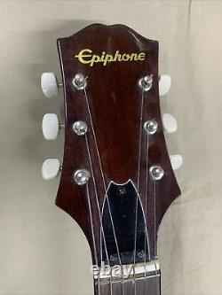 1970 Epiphone Ft-140 Blue Label Guitare Norlin Made In Japan Withcase