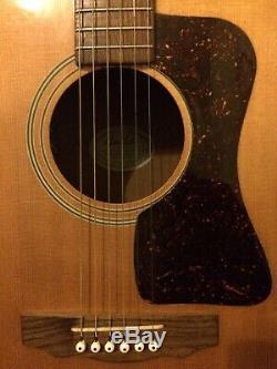 1970 Original Vintage Guild Guitare Acoustique Made In Californie