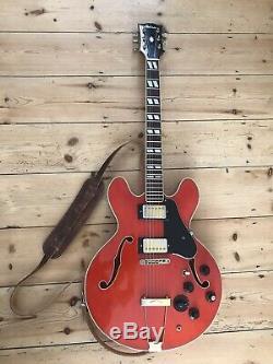 1970 Vintage Antoria Fabriqués Au Japon Semi-guitare Acoustique