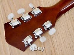 1971 L'harmonie Souveraine H182 Vintage Guitare Acoustique Clean & Serviced Usa-made