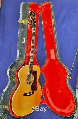 1972 Magnifiques Guild F-50r Bluegrass, Rosewood B & S, Made In Usa, Vgdcond. Ohsc