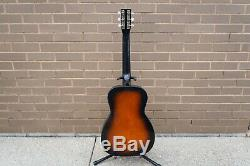 1975 Harmony H1221 Sunburst Acoustique 3/4 Parlor Guitare, Made In Usa, 319,1221000