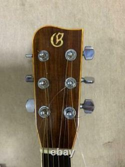 1975 Ryoji Matsuoka Lucia G-500 Gallagher Modèle Guitare Acoustique Made In Japan H