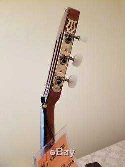 1978s Takamine C-134s Guitare Classique Fabriqué Au Japon Avec Étui Rigide Utilisé Xlnt Cond