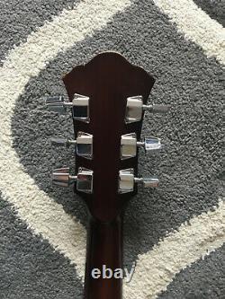 1980 Ibanez S300sv Guitare Acoustique Fabriquée Au Japon + Hard Case Rare