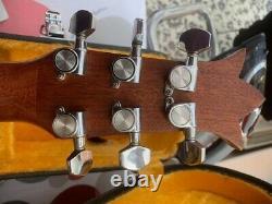 1980 Vintage Acoustic Guitar Lys L10 Hand Made In Canada Voir La Vidéo