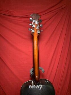 1981 Ovation 1612 Balladeer Guitare Électrique Acoustique Fabriquée Aux États-unis