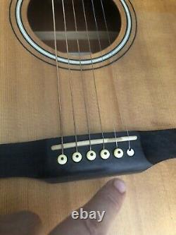 1987 Larrivée Acoustic Guitar D-o3 Made In Canada With Larrivée Hard Case