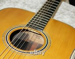 1990 Fabriqué Au Japon Alvarez Dy59 Yairi Guitare Acoustique Avec Étui