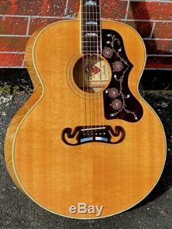 1994 Gibson J-200 # Commémorative 78 De Seulement 100 Faits Pour Le 100e Anniversaire