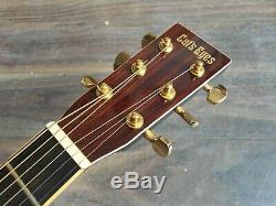 1996 Tokai Cats Eyes Ce35bks Vintage Guitare Acoustique (made In Japan)