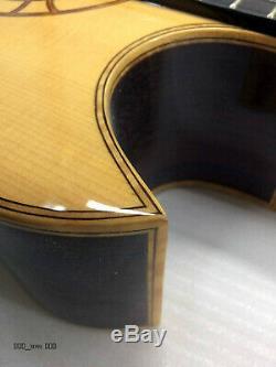 2017 Abraham Wechter Fait Sur Mesure Florentine Elite Guitare Nylon Avec Pick-up