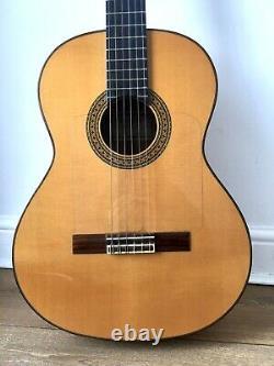 Alhambra 7 Fc Flamenco Guitar Made In Spain Proffessional Espagnol Acoustique