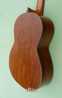 Alte 4/4 Konzert-gitarre Martinez G-300 Fabriqué Au Japon Zeder Palissandre Rar Top