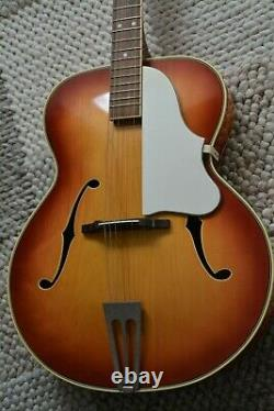 Alte Gitarre Guitar Archtop Jazz Made En Allemagne