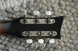 Alte Gitarre Guitar Hyrer Lindberg Jazz Fabriqué En Allemagne Archtop