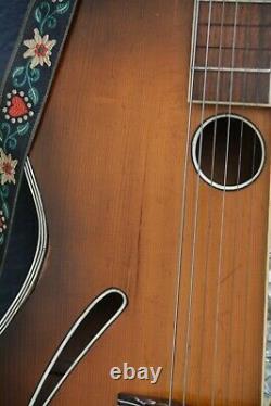 Alte Gitarre Guitar Jazz Fabriqué En Allemagne