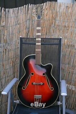 Alte Gitarre Guitare Framus Archtop Made In Germany