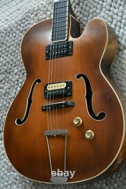 Alte Gitarre Guitare Gitarre Schlaggitarre Archtop Made In Germany