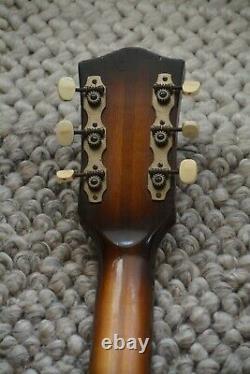 Alte Gitarre Guitare Höfner Hofner Archtop Made In Germany