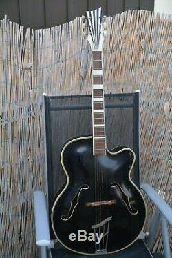Alte Gitarre Guitare Hoyer Schlaggitarre Archtop Made In Germany