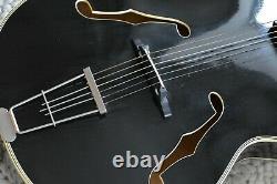 Alte Gitarre Guitare Hoyer Von 1958 Jazz Archtop Made In Germany