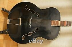 Alte Gitarre Guitare Jazz Hoyer Made In Germany