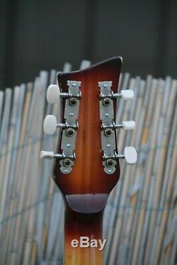 Alte Gitarre Guitare Jazz Made In Germany Archtop