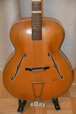 Alte Gitarre Guitare Jazz Made In Germany Harmoni