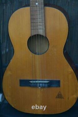 Alte Gitarre Guitare Konzertgitarre Made In Germany