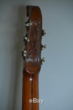 Alte Gitarre Guitare Laute 1920-1930 Made In Germany