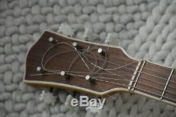 Alte Gitarre Guitare Made In Germany Archtop Schlaggitarre
