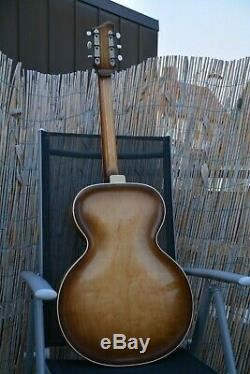 Alte Gitarre Guitare Schlaggitarre Archtop Made In Germany