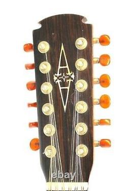 Alvarez 5037 Guitare Acoustique À 12 Cordes, Fabriqué Au Japon #r8571