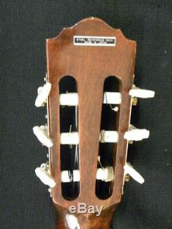 Alvarez Hand Made Guitare Classique Modèle 4003 Avec Le Cas Du Japon C. 1970
