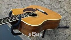 Aria 6 Cordes Vintage Guitare Flattop De Gitarre Fabriqué Au Japon