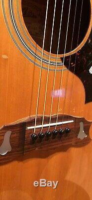 Aria 7460 Gibson Dove / Hummingbird Copy Made In Japan 70 Rare