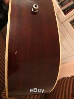 Aria 9400 1970 Guitare Acoustique, Fabriqué Au Japon, Tous Les Solides Woods